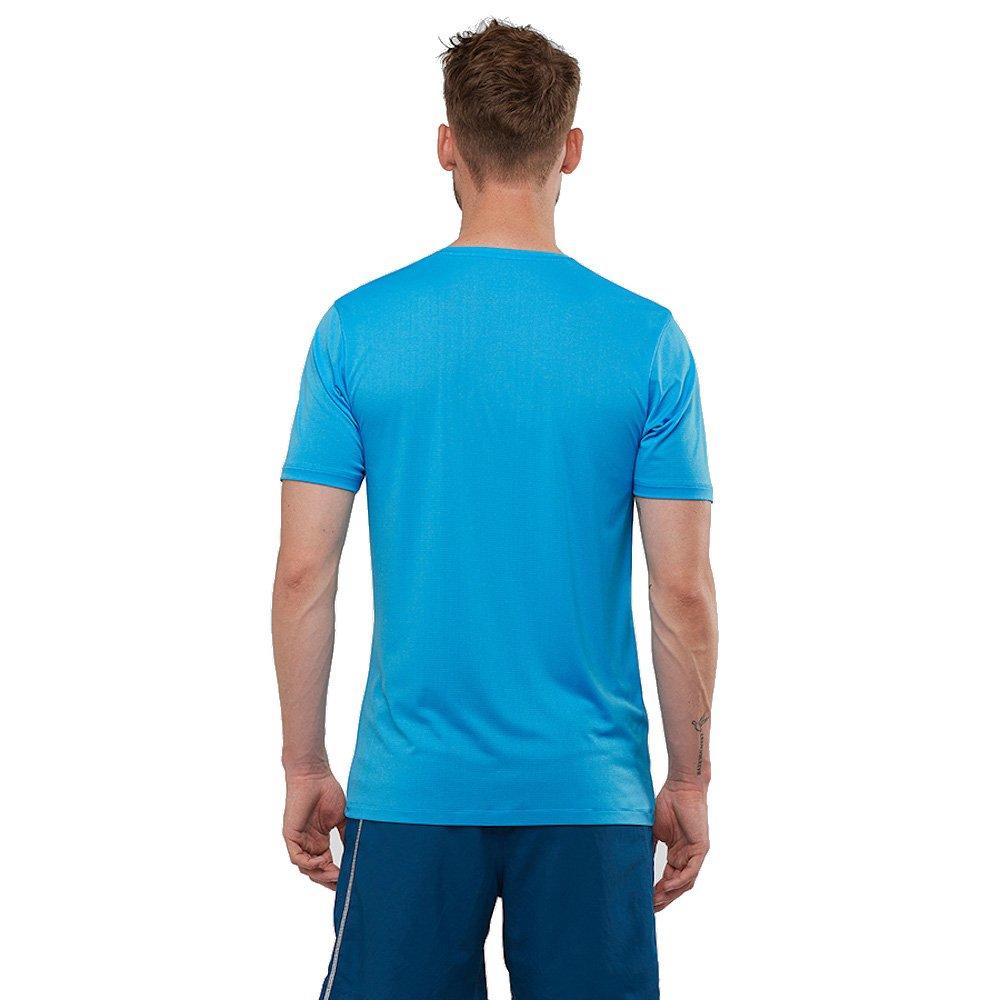 salomon agile training tee m niebieska