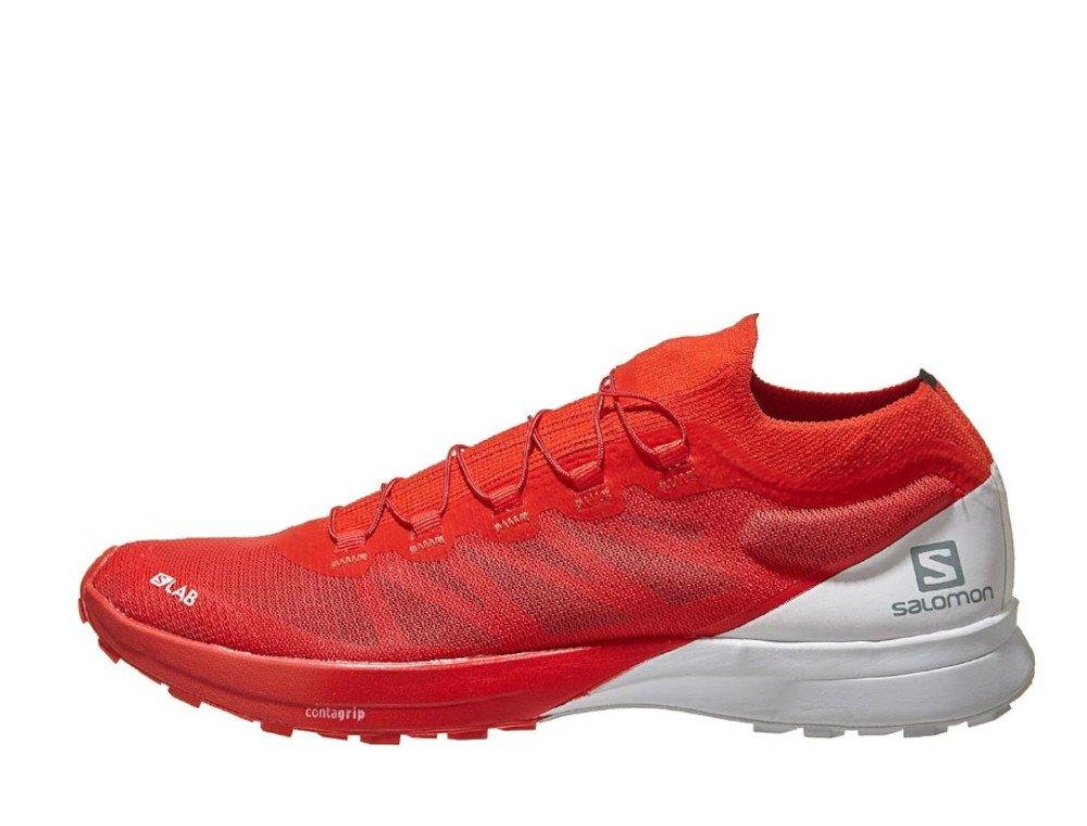 salomon s/lab sense 8 racing m czerwono-białe