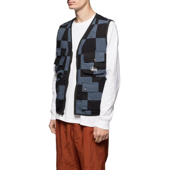 stussy <br/><b>utility vest</b> <br/>(115504-1855)