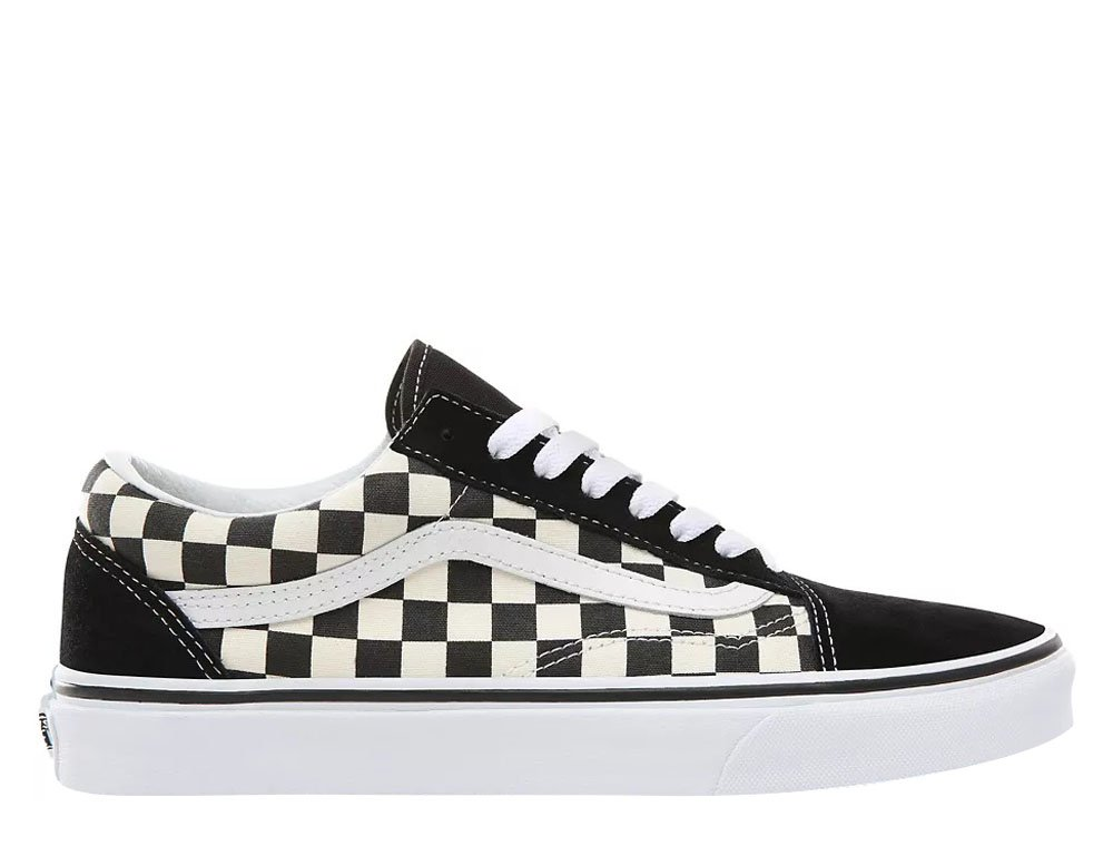 Vans Old Skool Primary Check Czarne (VN0A38G1P0S)
