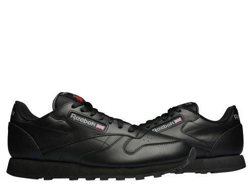 reebok classic leather czarne
