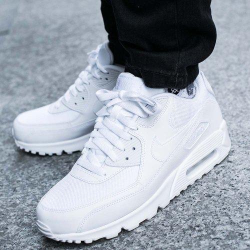 Nike Air Max 90 Essential Męskie Białe (537384 111)