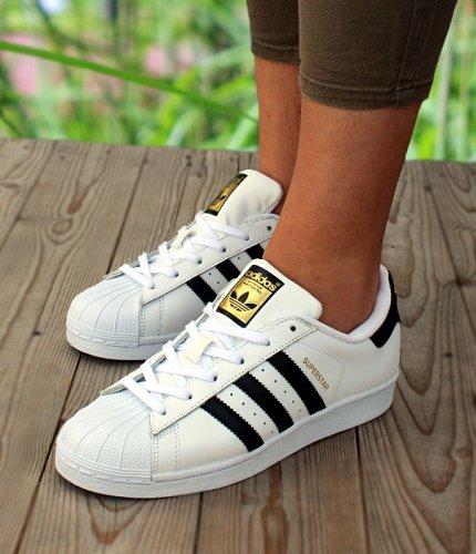 adidas superstar junior biało-czarne