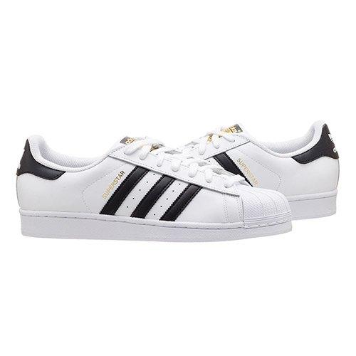 """adidas superstar """"black stripes"""" biało-czarne"""
