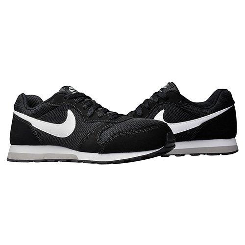 nike md runner 2 (gs) czarno-białe