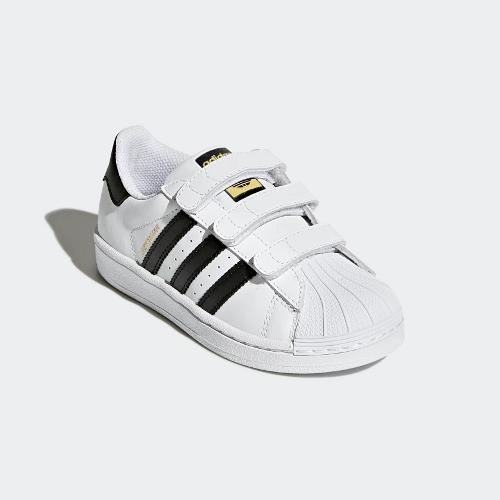 adidas Superstar CF C biało czarne