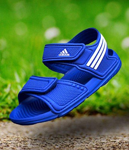 adidas akwah 9 k niebiesko-białe