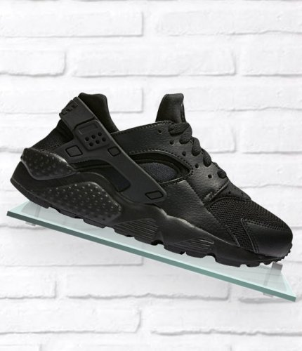 nike huarache run (gs) czarne