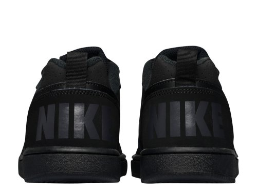 nike court borough low (gs) czarne