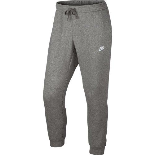 nike nsw jogger club fleece szare
