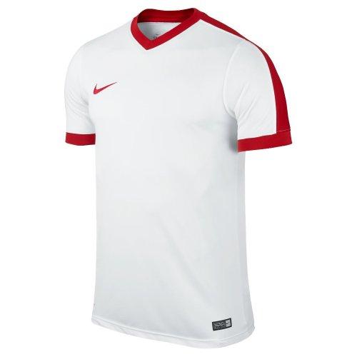 nike striker iv junior biało-czerwona