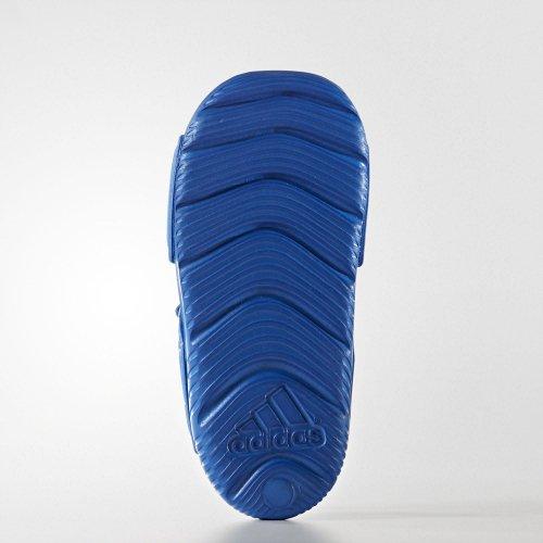 adidas altaswim i niebiesko-białe