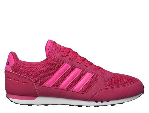 adidas city racer w różowo-białe