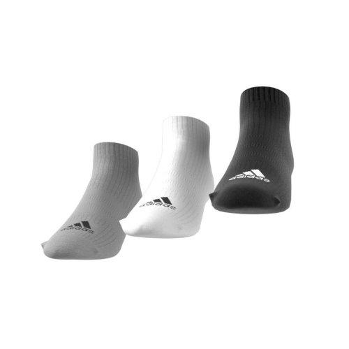 adidas 3-stripes no-show socks 3 pairs wielokolorowe