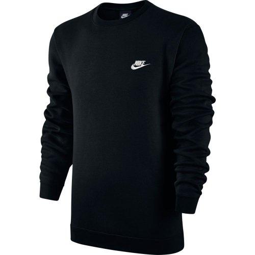 nike sportswear m crew fleece club czarna