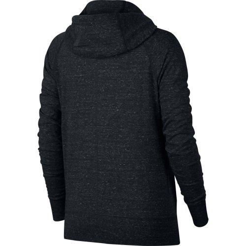 nike sportswear gym vintage full-zip hoodie czarna