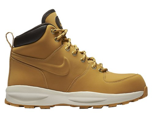 nike manoa leather boot haystack (gs) brązowe