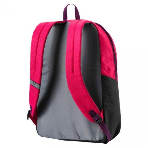 puma pioneer backpack różowo-czarny