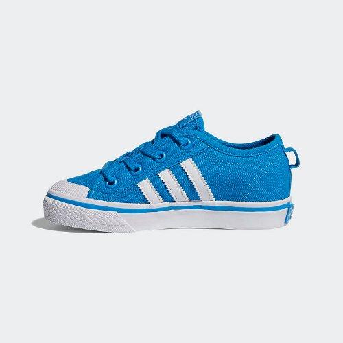 adidas nizza c niebiesko-białe