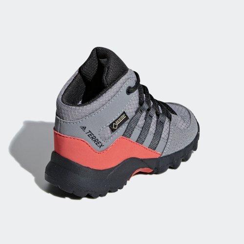 adidas terrex mid gtx i szaro-pomarańczowe