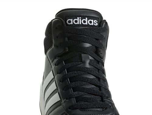 adidas VS Hoops Mid 2.0 czarno białe