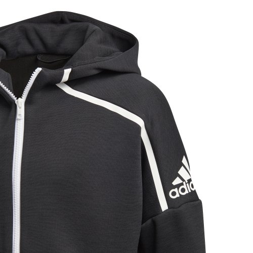 adidas Z.N.E. Fast Release Hoodie czarno biała