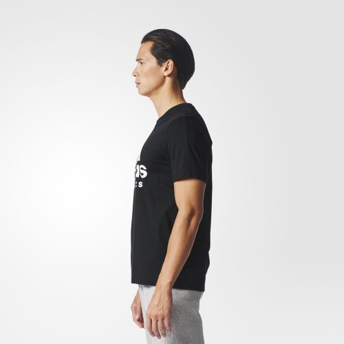adidas sport id tee czarno-biała