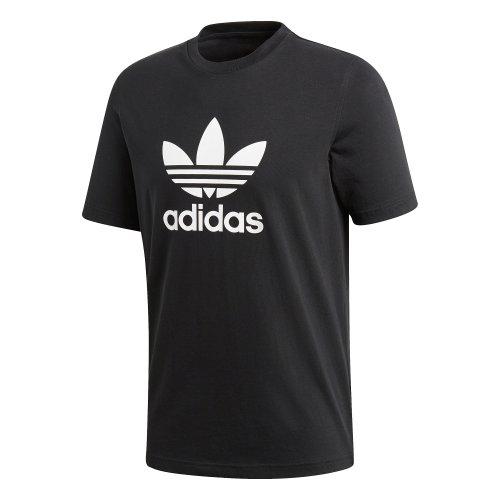 adidas trefoil tee czarno-biała