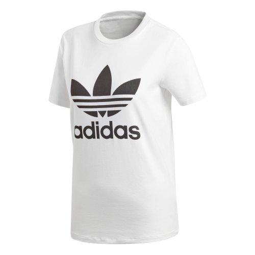 adidas trefoil biało-czarna