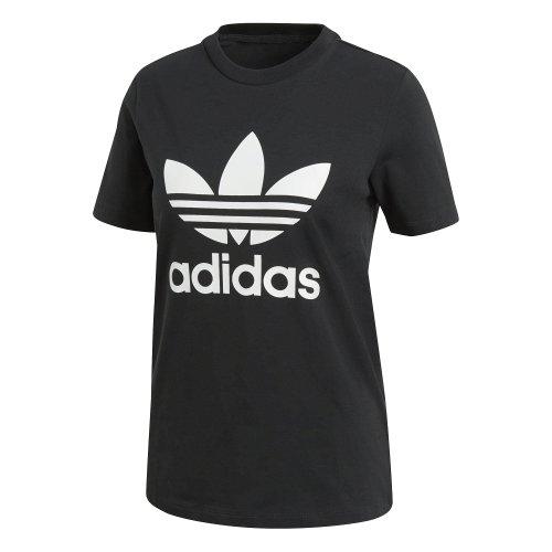 adidas trefoil czarno-biała