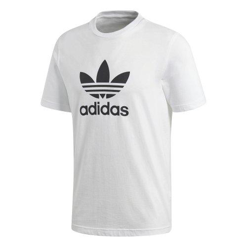 adidas trefoil tee biało-czarna