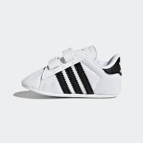 adidas Superstar Crib biało czarne