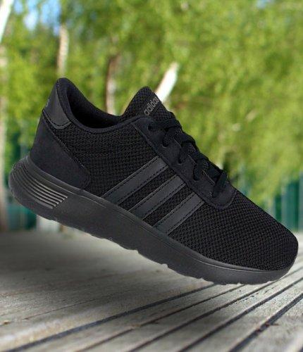 adidas lite racer k czarne