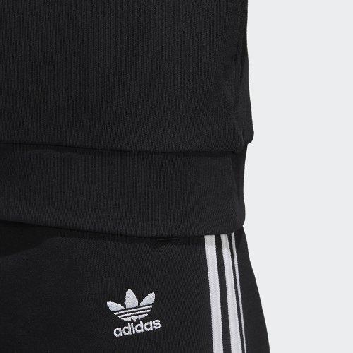 adidas Trefoil Hoodie czarno biała   DV2870 butydlamalucha.pl