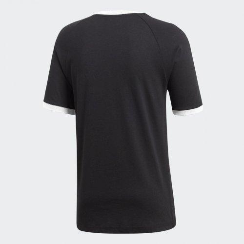 adidas 3-stripes tee czarno-biała