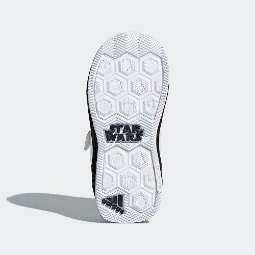 adidas star wars rapidarun biało-czarne