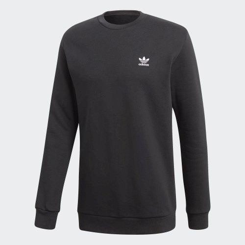 adidas trefoil sweatshirt czarna