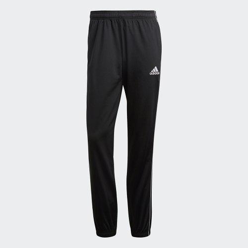 adidas core 18 polyester pant czarne