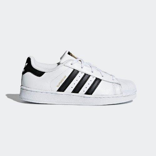 adidas Superstar C biało czarne