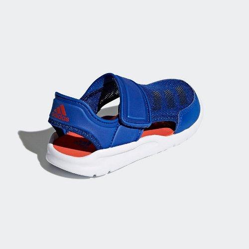 adidas fortaswim c niebiesko-białe