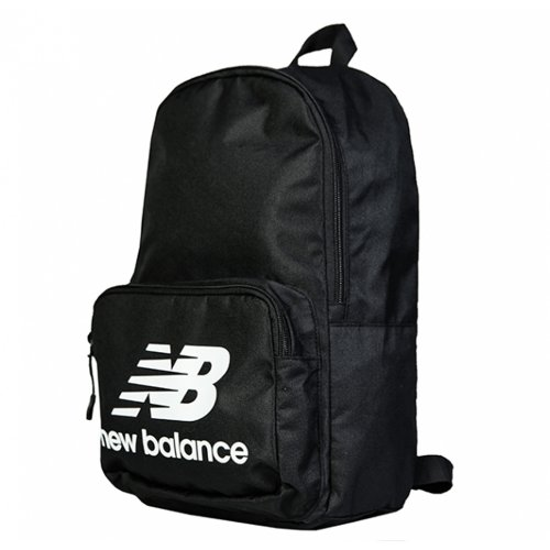 new balance classic backpack czarno-biały