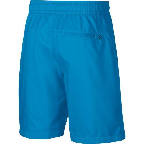 nike sportswear w short niebiesko-czarne