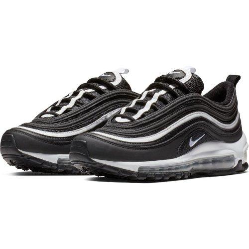 Nike Air Max 97 (GS) Black White Metallic Silver | Footshop
