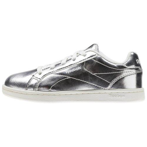 reebok royal complete clean srebrno-białe