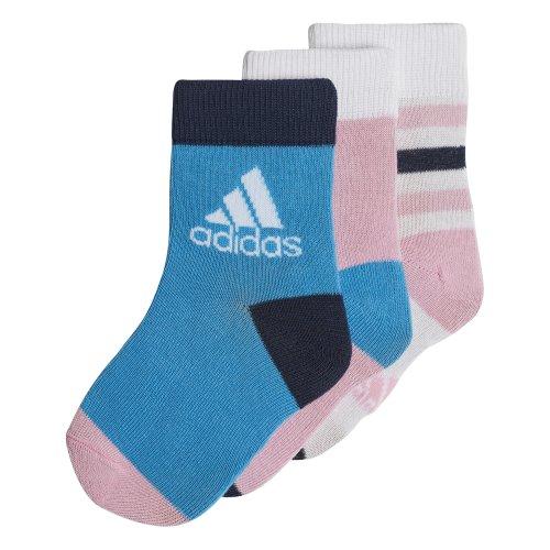 adidas lk ankle socks 3 packs wielokolorowe