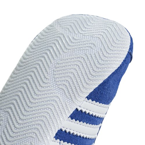 adidas gazelle crib granatowo-białe