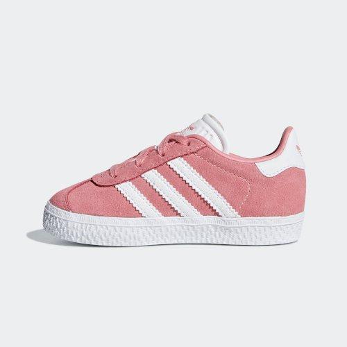 adidas Gazelle I różowo białe