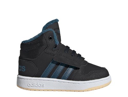 adidas hoops mid 2.0 i czarno-niebieskie