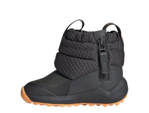 adidas rapidasnow boots i szaro-pomarańczowe