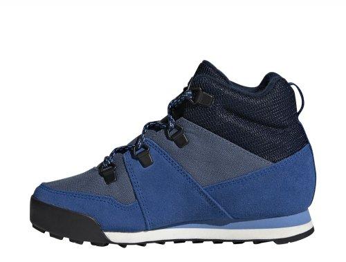 adidas Climawarm Snowpitch K granatowo niebieskie